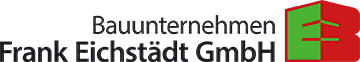 Logo Moderne Architektur mit optimalem Raumkonzept • Bauunternehmen Frank Eichstädt GmbH